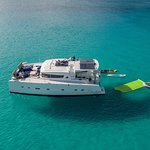 St Martin / Anguilla Private Catamaran Full Day Cruise & 4-course Gourmet Lunch