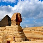 Excursão do Layover do Cairo às pirâmides, ao Cairo cóptico e ao bazar de Khan Khalili
