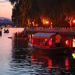 Private Illuminated Beijing Tour with Chartered Boat Ride at Houhai Lake