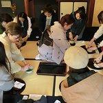 Cérémonie du thé dans un chef d'oeuvre architectural au musée Shibamata & Tora-san
