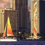 Waikiki Sunset Cocktail Sail with Open Bar