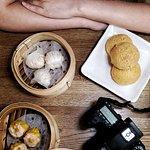 甘哥·叉燒餐包、海膽·燒賣、松露·蝦餃