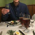 Sammen med min kollega, chefredaktør Steen Trolle, nød jeg frokosten på Schønnemann.