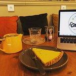 tarte citron vert basilic maison, trop bon :)