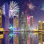 Crucero con cena de Nochevieja en Dubai Marina