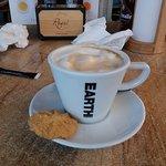Na een goed hoofd gerecht is het heerlijk koffie drinken.