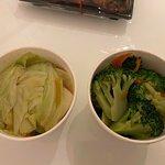 vegetables for 3