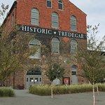 Historic Tredegar Iron works building at ACWM