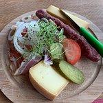 Gipfel-Restaurant Rothorn Foto