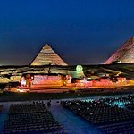 The World Famous Pyramids Sound and Light Show in Giza
