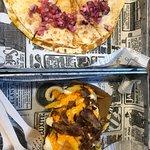 Quesadilla y patatas longbeach
