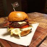 煙肉芝士安格斯漢堡(7成熟)$118