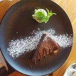 עוגת פאדג' שוקולד, עם נגיעות ארל גריי