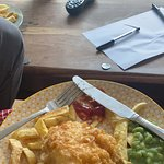 صورة فوتوغرافية لـ Fish and Chips at