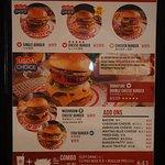 menu......