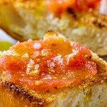 Ontbijt Typisch Spaans Pan con Tomate