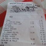 Merendero Jose Cruz Foto