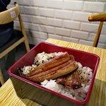 浦燒鰻魚定食
