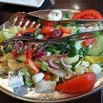 Grieks Restaurant Athene Foto