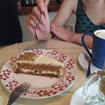 Una tarta de zanahoria que no estaba muy allá...