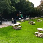 Our Family Garden, What better way to enjoy a lovely family meal in the sun!!