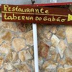 Placa do Restaurante