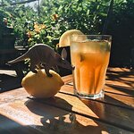 Home made Lemon Ginger Ice Tea