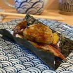 Cono de anguila con foie gras