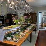 Tertin Kartanon kesäpöytä, kylmät herkut - Tertti Manor's buffet