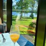 Näkymä ravintolasta. A view from the restaurant.