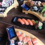 Flot og frisk Sushi