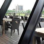 Außenbereich an der Weser