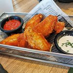 Chicken Wings (separat bestellt, nicht als Starter)