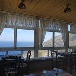La vista perfetta della taverna Leonidas!