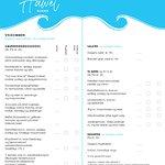 Super menukort hvor der også er tænkt på de små.