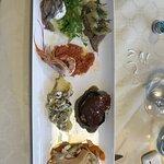 Vorspeise Fischvariation