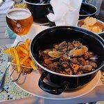 Moules sauce fruits de mer