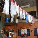 De hyggelige lokaler i Caféen