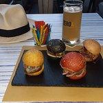 Ceni solo? Una birra bianca e 4 finger burger sono un'ottima compagnia! (Ma la sera sopo ho prov