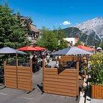 Banff Avenue Outdoor Patio