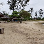 Nice Camping Site with view to Emao Island