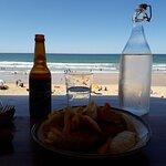 repas face à la mer