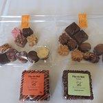 Chocolates Belga,Pão de Mel