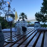 Very nice view over Lake constance (Bodensee) from the terrace. Restaurant visit includes the en