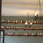 Teapot cafe inside
