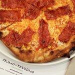 ¡Aviso! Nuestra pizza Pepperoni es una auténtica obra de arte.
