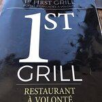 Fotografia de 1st First Grill