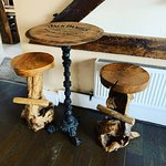 New Rustic Bar Stools