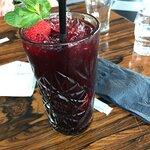 Blåbærmohito til dessert 🍇