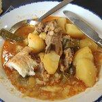 Estofado de patatas con cordero